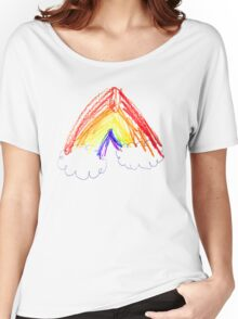 Coco's Rainbow Women's Relaxed Fit T-Shirt