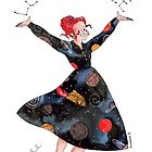 Miss Frizzle loves science by Roxanne Bee