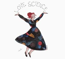 Miss Frizzle loves science Kids Tee
