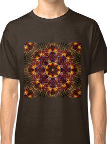 Glowing mandala ornament Classic T-Shirt