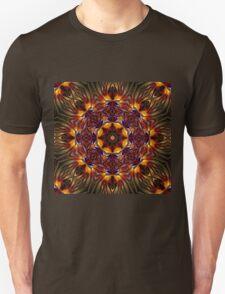 Glowing mandala ornament T-Shirt