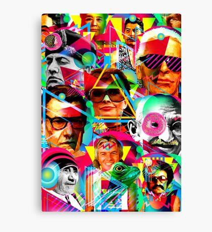 POP ICONS Canvas Print