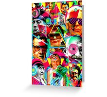 POP ICONS Greeting Card