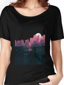 city sunset  Women's Relaxed Fit T-Shirt