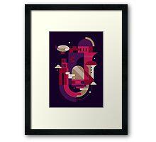 Retrofuturism Framed Print