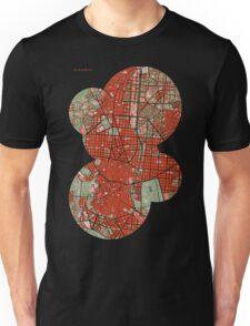Madrid city map classic Unisex T-Shirt
