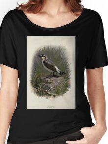 Familiar wild birds Swaysland 1883 V3 293 Wheatear Women's Relaxed Fit T-Shirt