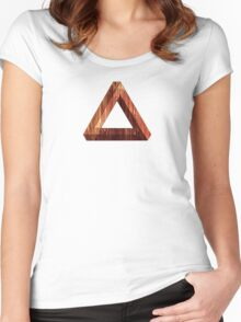 Illusion Melt  Women's Fitted Scoop T-Shirt