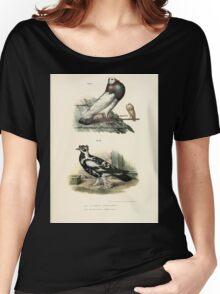 Bilder atlas zur Wissenschaftlich populären Naturgeschichte der Vögel in ihren sämmtlichen Hauptformen Leopold Joseph Fitzinger 1864 082 Women's Relaxed Fit T-Shirt