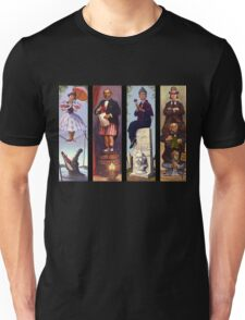Haunted mansion all Characthers Unisex T-Shirt