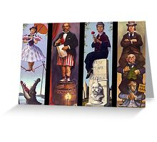 Haunted mansion all Characthers Greeting Card