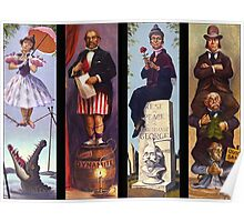 Haunted mansion all Characthers Poster