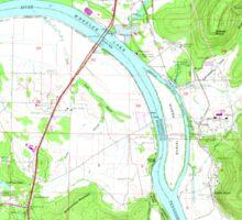 USGS TOPO Map Alabama AL Farley 303820 1964 24000 Sticker