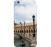 Plaza de España iPhone Case/Skin