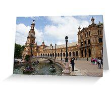 Plaza de España Greeting Card