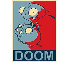 "GIR Doom- ""Hope"" Poster Parody Photographic Print"