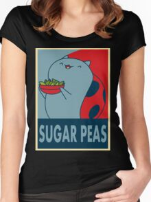 Catbug for President Women's Fitted Scoop T-Shirt