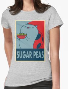 Catbug for President Womens Fitted T-Shirt
