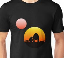 When Two Worlds Collide Unisex T-Shirt