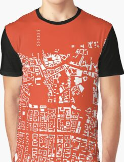 Warsaw map classic Graphic T-Shirt