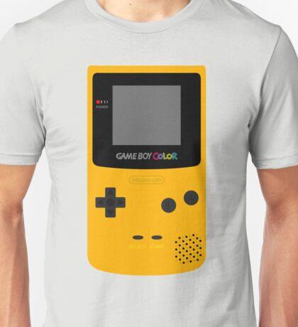 Game Boy Yellow Unisex T-Shirt