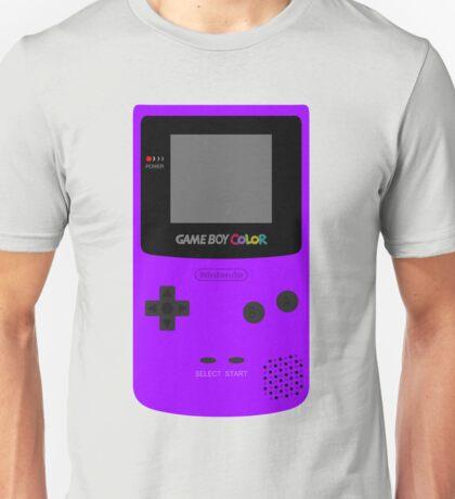 Game Boy Violet Unisex T-Shirt