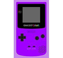 Game Boy Violet Photographic Print