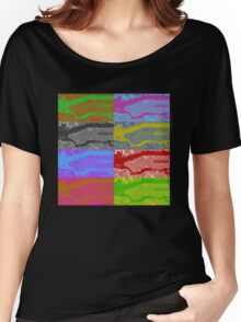 New York Map  Women's Relaxed Fit T-Shirt