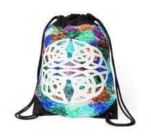 Celtic knot Papercut Drawstring Bag