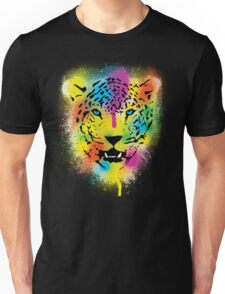 POP Tiger - Colorful Paint Splatters and Drips - Stained Canvas Art  Unisex T-Shirt