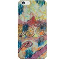 Beach Vegetation With Octopus iPhone Case/Skin