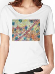 Beach Vegetation With Octopus Women's Relaxed Fit T-Shirt