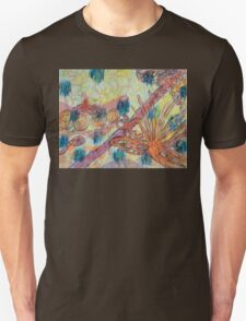 Beach Vegetation With Octopus Unisex T-Shirt