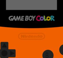 Game Boy Orange Sticker