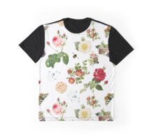 Redoute's Garden, Collage Graphic T-Shirt