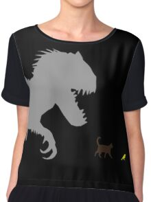 Jurassic World - Monster is a Relative Term Chiffon Top