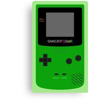 Game Boy Green Canvas Print