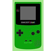 Game Boy Green Photographic Print