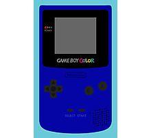 Game Boy Blue Photographic Print