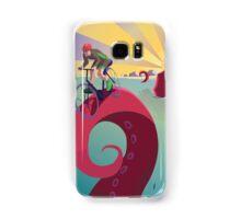 Biking By The Sea Samsung Galaxy Case/Skin