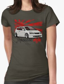 Civic VII (white) Womens Fitted T-Shirt