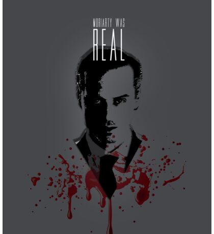 Moriarty Was Real (plain) Sticker