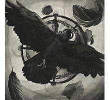 Ink Raven Photographic Print