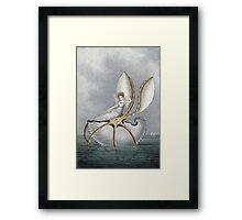 Vintage famous art - Amelia Jane Murray  - A Fairy Resting On A Shell Framed Print