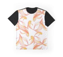 Watercolor fish pattern Graphic T-Shirt
