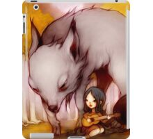 Wolf Lullaby  iPad Case/Skin