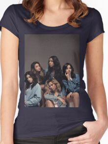 FIFTH HARMONY BILLBOARD Women's Fitted Scoop T-Shirt