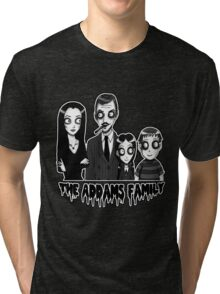 The Addams Family Portrait Tri-blend T-Shirt