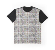 Urban fragments I: NewYork‬ ‎Paris‬ London‬ Berlin‬ Rome‬ & Seville Graphic T-Shirt