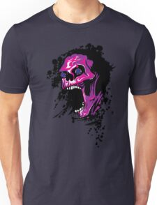 Wicked Skull With Paint Splatters T-Shirt